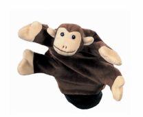 Abe som hånddukke