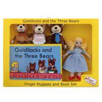 Fingerdukker: Guldlok og de tre bjørne