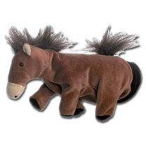 Hest som hånddukke