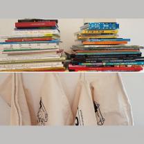 """Mini-bibliotek """"Bogbytteriet"""""""