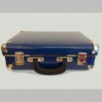 Lille blå robust kuffert