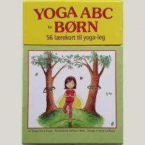 Lærekort: 56 lærekort til yoga-leg på dansk