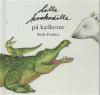Lille krokodille på kælketur